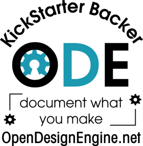 Open Design Engine KickStarter Logo