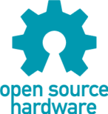 OSHW Logo - credit the Open Source Hardware Association